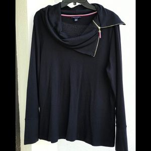Tommy Hilfiger Turtle Neck Sweater with Zipper